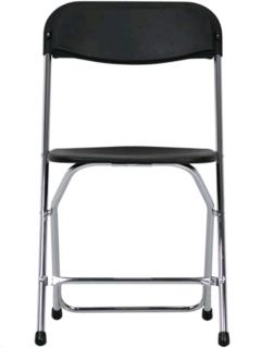 Where to rent BLACK PLASTIC FOLDING CHAIR in Portland OR