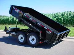 Where to rent TRAILER, DUMP 6 6 x12  2AXLE SURGE BRAKE in Portland OR
