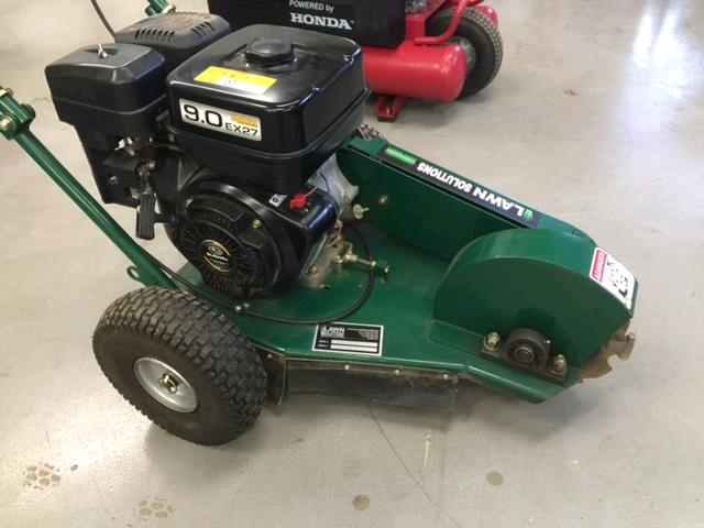 Where to find STUMP GRINDER 9HP LAWN SOLUTIONS in Portland