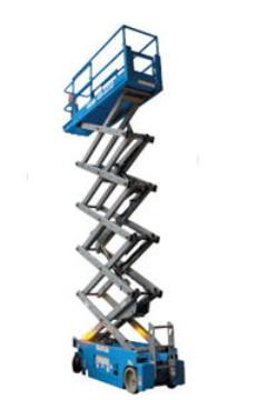 Used Equipment Sales SCISSOR LIFT 26  GENIE 2646 ELECTRIC in Portland OR