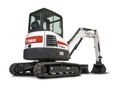 Where to find EXCAVATOR, 8,400LB BOBCAT E35 W THUMB in Portland