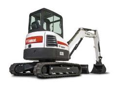 Where to rent EXCAVATOR, 8,400LB BOBCAT E35 W THUMB in Portland OR