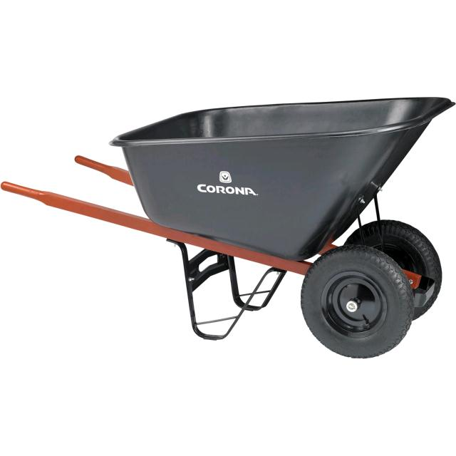 Where to find WHEELBARROW, 10 CU FT POLY DUAL WHEEL in Portland