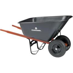 Rental store for WHEELBARROW, 10 CU FT POLY DUAL WHEEL in Portland OR