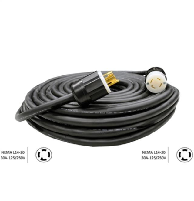 Where to find TEMP POWER CORD, 50  10-4 30A 125 250V in Portland