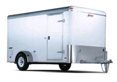 Where to rent TRAILER, ENCLOSED 6 X12  VAN BODY in Portland OR