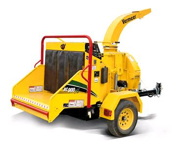 Where to find CHIPPER, 9  Gas Vermeer BC900XL tow in Portland