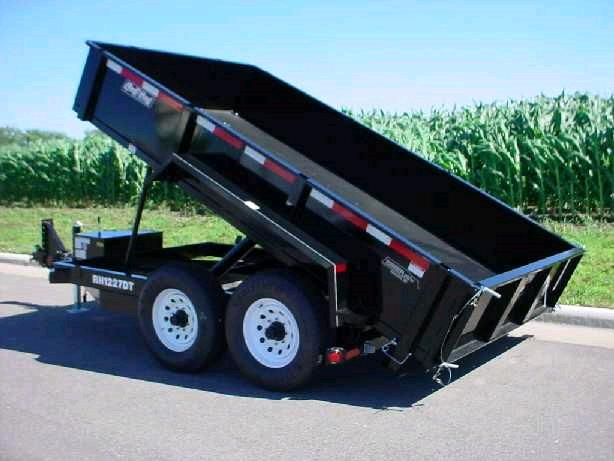 Where to find TRAILER, DUMP 7 x12   2AXLE EL. BRAKE in Portland