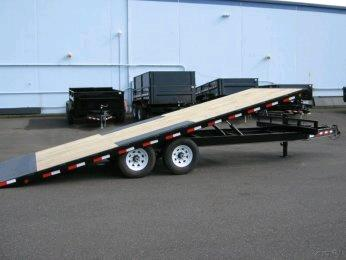 Where to find TRAILER, FLATBED 8  X 22  14k TILT DECKOVER in Portland