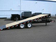 Where to rent TRAILER, FLATBED 22  14k TILT DECKOVER in Portland OR