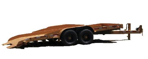 Where to find TRAILER, FLATBED 16  14K W SURGE BRAKE in Portland