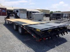 Where to rent TRAILER, FLATBED 25  22.5K Gooseneck in Portland OR
