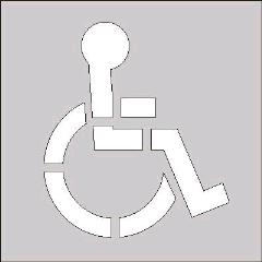 Rental store for HANDICAP STENCIL FOR STRIPER PARKING LOT in Portland OR