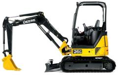 Where to rent EXCAVATOR, 6,000LB JD 26G W THUMB in Portland OR