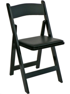 Where to rent BLACK RESIN CHAIR in Portland OR