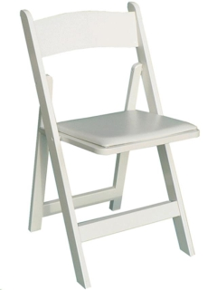 Where to rent WHITE RESIN CHAIR in Portland OR
