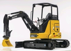 Where to rent EXCAVATOR, 8,300LB JD 35G W THUMB LONG ARM in Portland OR