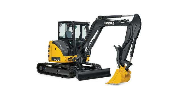 Where to find EXCAVATOR,10,500 LB JD 50G W THUMB in Portland