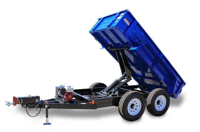 Where to find TRAILER, DUMP 5 X10  GAS 9,900 GVW in Portland
