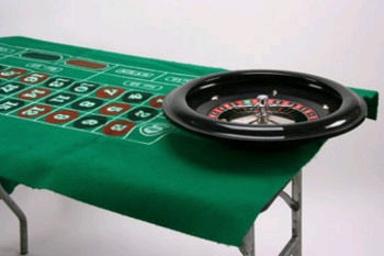 Where to find ROULETTE SET WHEEL FELT TABLE in Portland