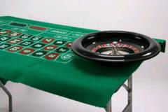 Where to rent ROULETTE SET WHEEL FELT TABLE in Portland OR