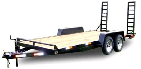 Where to find TRAILER, FLATBED 14  2AXLE SURGE RAMPS in Portland