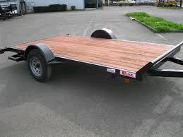 Where to find TRAILER, FLATBED 12  SINGLE AXLE TILT in Portland