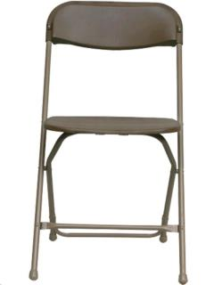 Where to rent BROWN PLASTIC FOLDING CHAIR in Portland OR