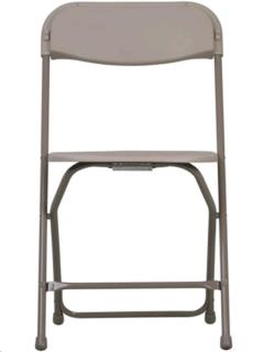 Where to rent PLASTIC FOLDING CHAIR, SAND in Portland OR