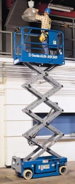 Where to rent SCISSOR LIFT 19  GENIE 1930 ELECTRIC in Portland OR