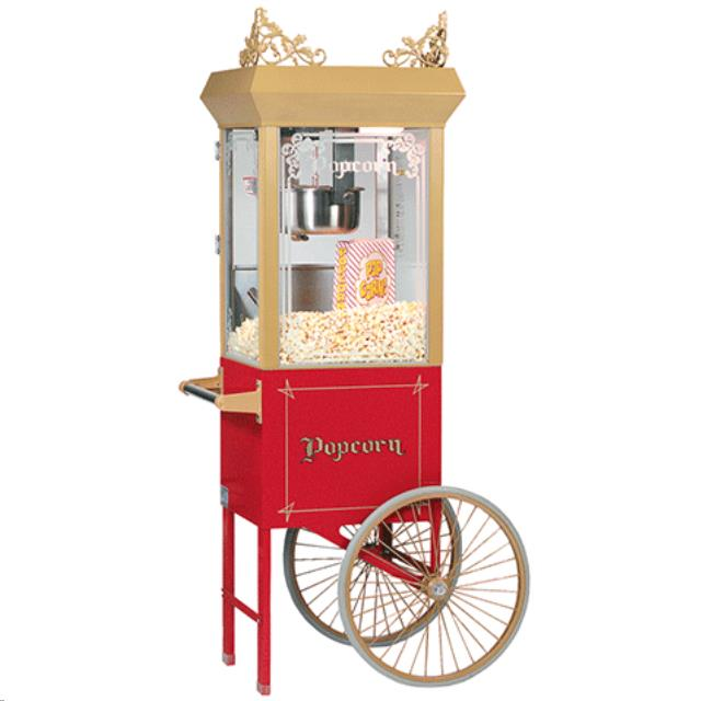 Where to find POPCORN MACHINE W CART in Portland