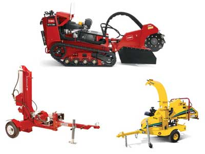 Rent FORESTRY EQUIPMENT